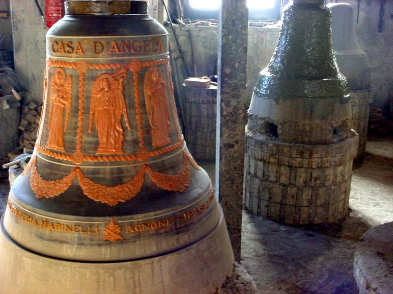 Le campane della fonderia Marinelli