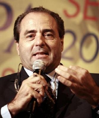 Il leader dell'Idv, Antonio Di Pietro