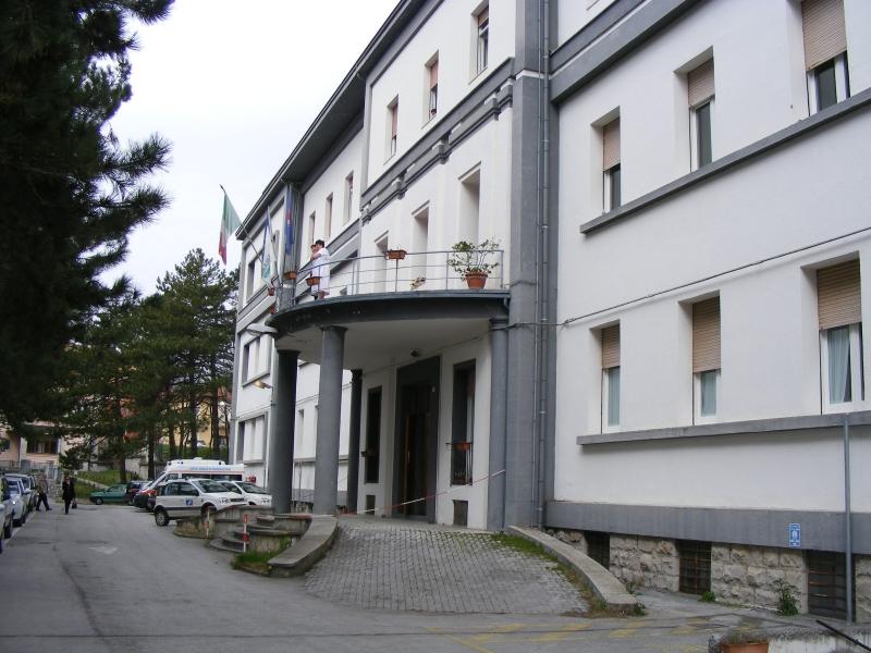 L'ormai ex ospedale San Francesco Caracciolo di Agnone