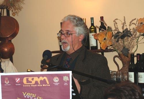 Lo scrittore Paolo Tanzj