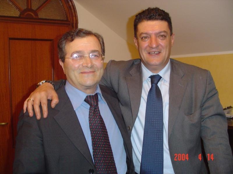 De Vita con l'assessore regionale Marinelli