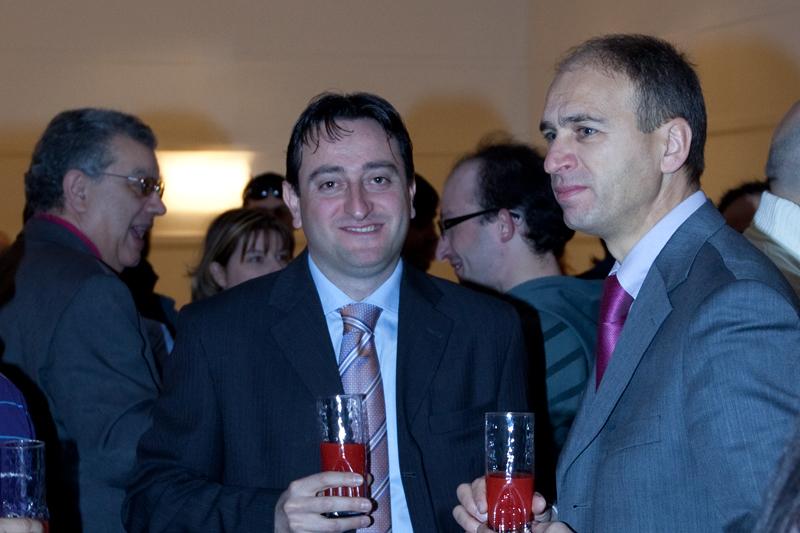 Al centro nella foto il sindaco di Celenza, Andrea Venosini