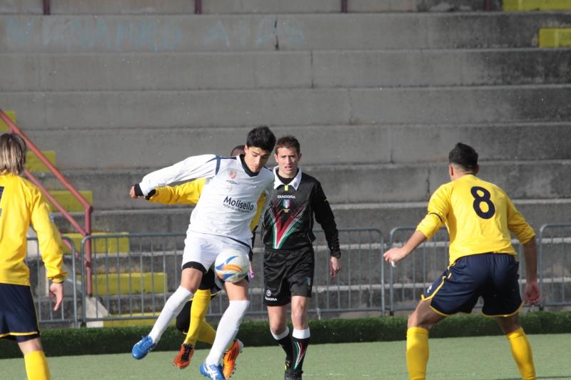 Lucio Boris Di Lollo, autore del gol contro il Miglianico