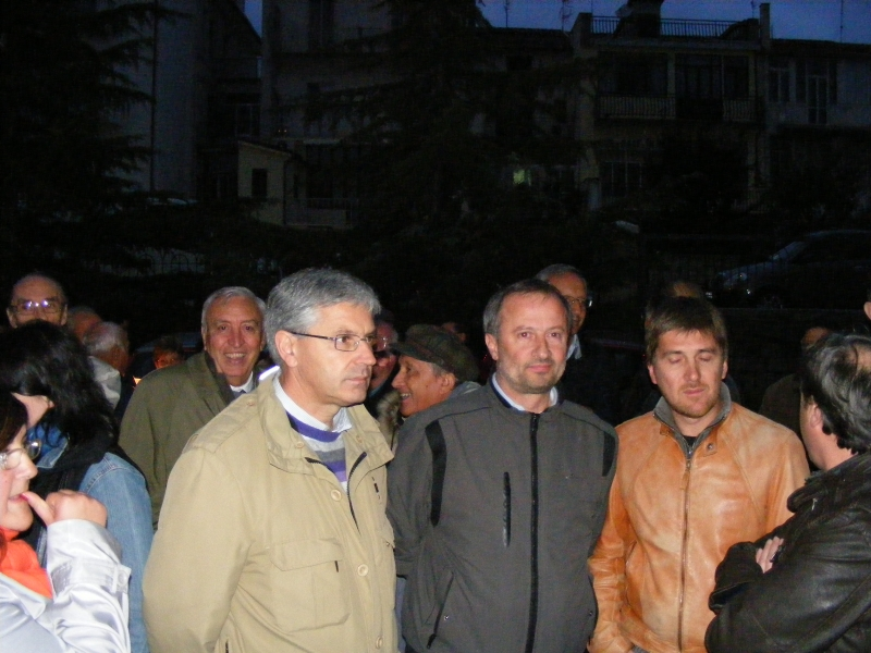 A sinistra Michele Petraroia