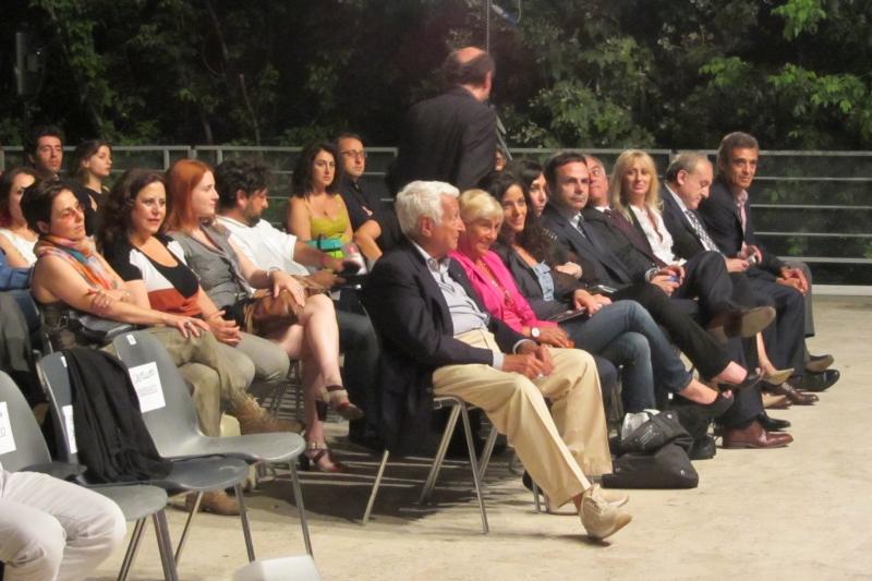 In prima fila Frattura alla presentazione del libro Viteliu a Roma