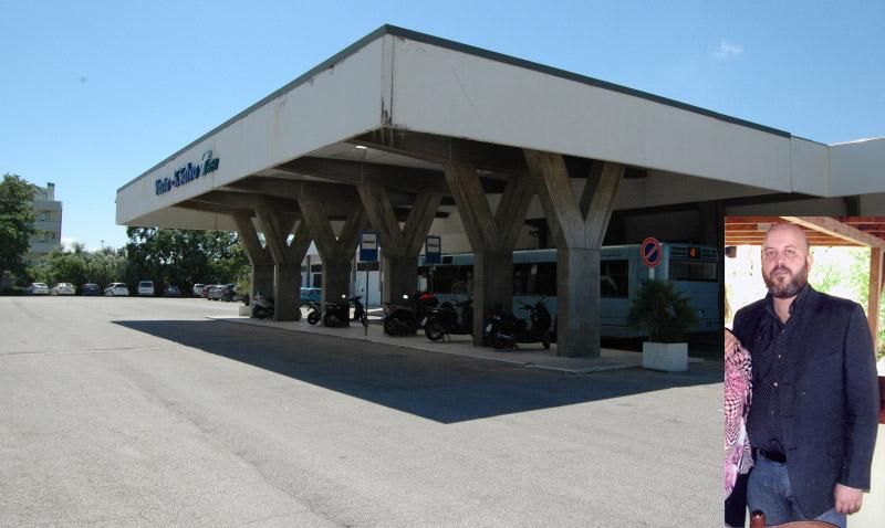 La stazione, dove è stato visto l'ultima volta