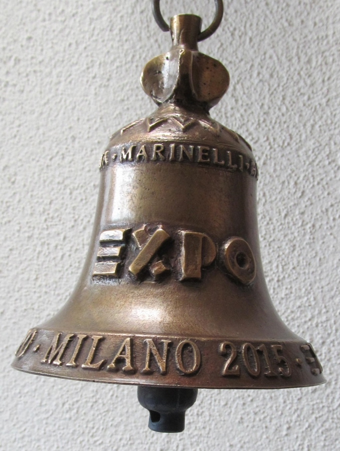 Le Campane Di Agnone.Agnone Presenta La Campana Per Expo 2015 In Concomitanza Con