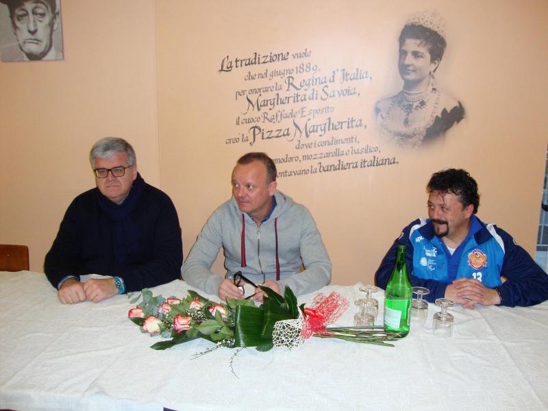 Da Sinistra: il sindaco Sbrocca, Gigi D'Alessio e Gabriele Pasciullo