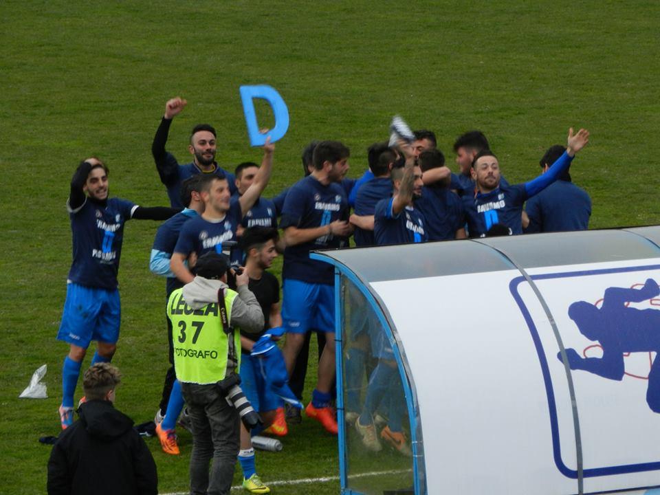 L'Isernia festeggia la promozione in Serie D