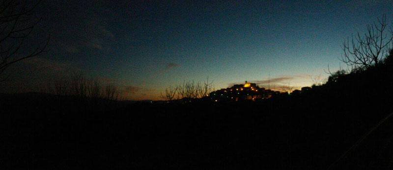 San Giovanni Lipioni al tramonto