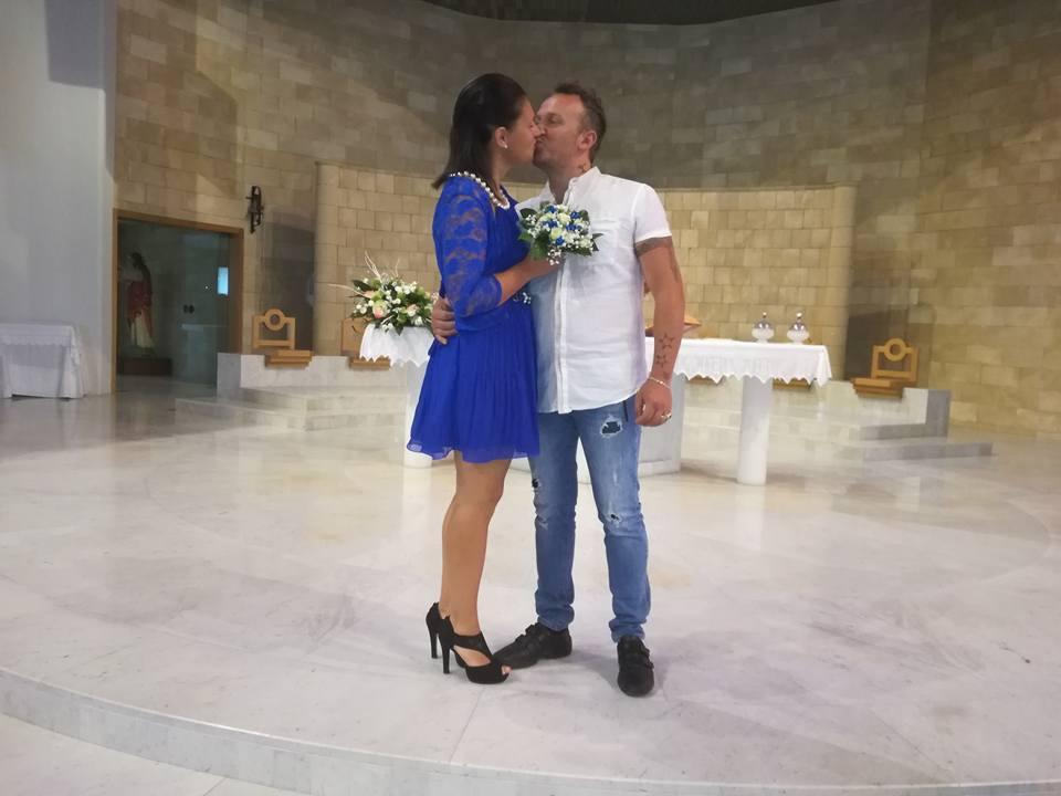 Auguri Per Un Matrimonio Religioso : Celebrato il matrimonio religioso di tamara e danilo auguri