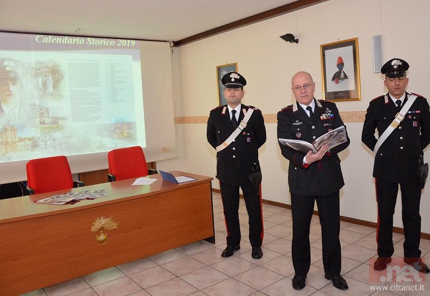Calendario Storico Carabinieri 2019.Calendario 2019 Dei Carabinieri Cerimonia Di Presentazione