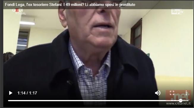 Fondi Lega La Dichiarazione Choc Di Stefano Stefani A Repubblica I