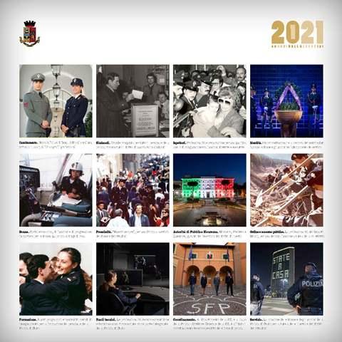 La Polizia di Stato presenta il calendario 2021